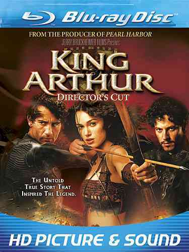 KING ARTHUR:EXTENDED UNRATED DIRECTOR BY OWEN,CLIVE (Blu-Ray)